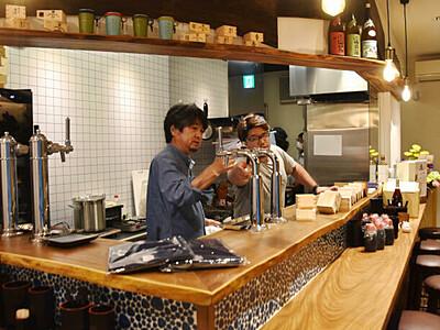 飯山駅で「えっぺ」やってこ 構内に居酒屋6日オープン