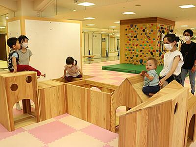 高岡・御旅屋セリオに子ども広場オープン