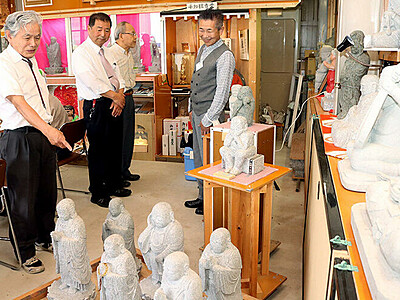 「石像美術館」に改装 平和願い彫り続けた故水本さん工房