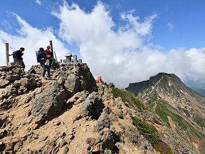 八ケ岳、閑散 異例の夏、登山者まばら
