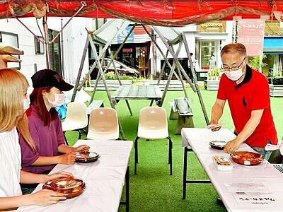 3密を気にせず外食、福井駅前に「グルメガーデン」 9店参加、7月12日まで