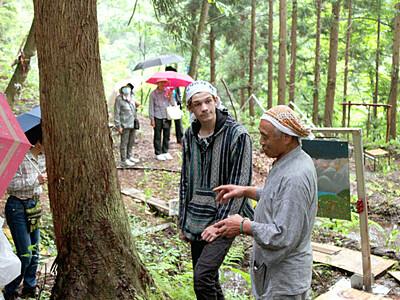 自然とアートの共存楽しんで 阿賀町・奥阿賀国際フェスタ