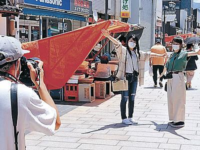 能登半島誘客 PR動画 広域観光協 女子旅テーマに撮影