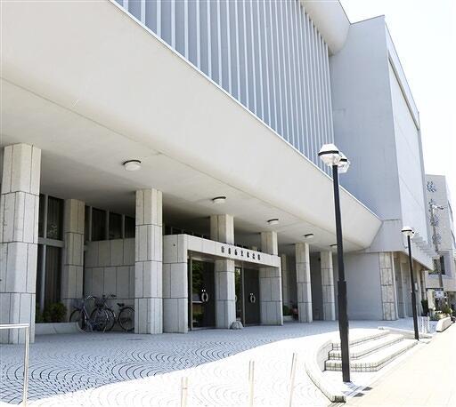 来年3月末で閉館する福井市文化会館=福井県福井市春山2丁目