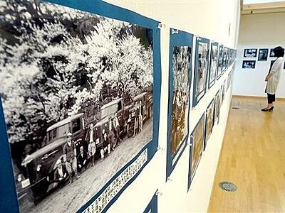 昭和の名田庄、貴重写真100点 おおい町で展示
