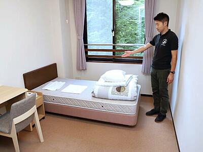 飯豊連峰「奥胎内ヒュッテ」 登山客向け 素泊まり室新設