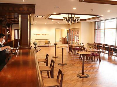 自然の中でウイスキーを 宮田の蒸留所、ビジター棟オープン