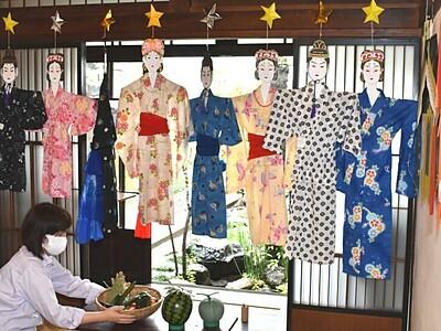 松本彩る七夕人形 松本市立博物館など6館連携の催し始まる