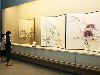 郷倉千靱ら6人の秀作 新湊博物館所蔵作品展