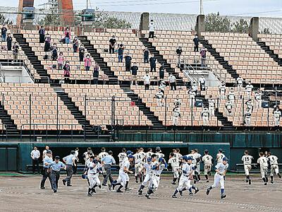 待ちかねた「球児の夏」 夏季石川県高校野球大会・地区予選