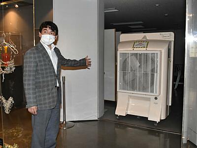 諏訪「ガラスの里」18日営業再開 送風機や入場制限