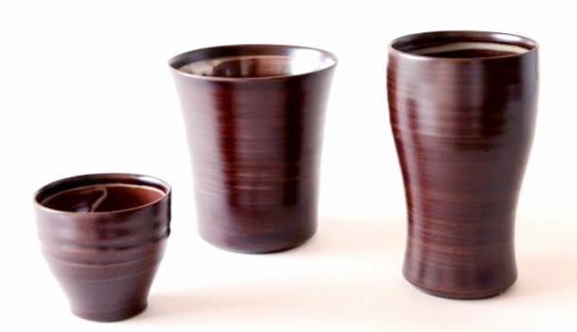 越前漆器と越前焼の職人技が凝縮された「三酒の神器」