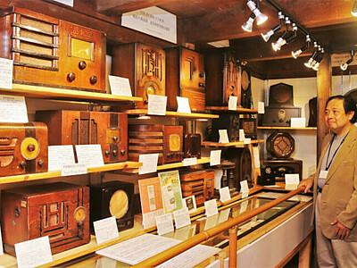 松本の日本ラジオ博物館 23日に新装開館へ