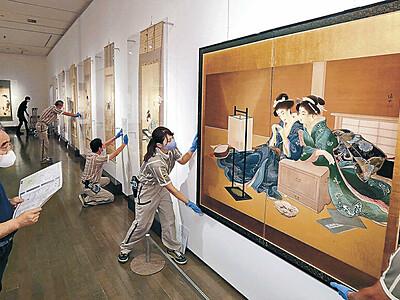 金沢21美「美人画展」 31日開幕