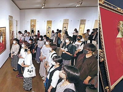 金沢の2美術館 美人画展と鴨居玲展を堪能
