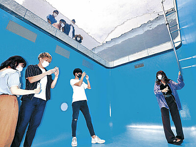 21世紀美術館 人気作品の地下部入場再開