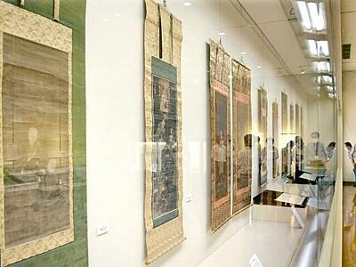陽願寺、創建550年で宝披露 越前市で文化財特別展