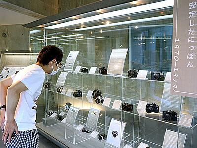 カメラの変遷50年たどる 高岡・ミュゼふくおかカメラ館