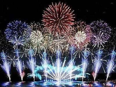敦賀花火、コロナ中止受けCGで5000発ドーン 8月16日ネット配信