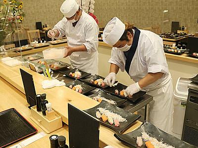 自慢の魚 味わって 新湊きっときと市場に直営鮮魚店・すし店