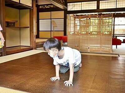 日本の夏の伝統敷物「油団」ひんやり 越前古窯博物館