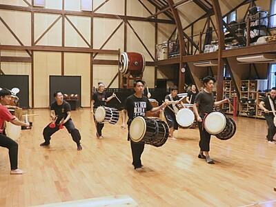 鼓童の演奏 今年はオンライン 21日から佐渡で国際芸術祭