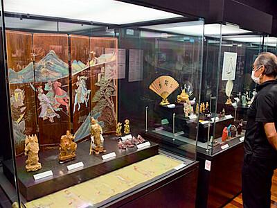 三国志ゆかりの約60点展示 飯田の川本喜八郎人形美術館