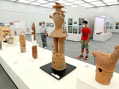最新の考古学成果を披露 長岡・「発掘された日本列島」展