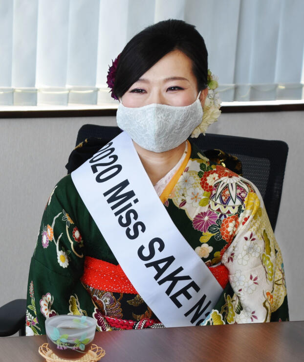 最終選考会出場を報告する横田さん