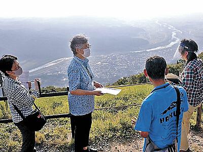 世界ジオ推薦手応え 白山で現地調査始まる