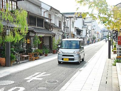 松本・中町通り、にぎわい創出 トランジットモール実施へ