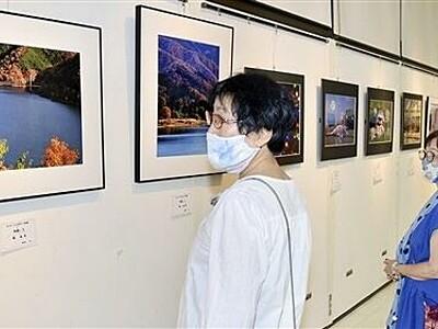美しい風景や人物個性光る写真56点 鯖江で愛好家展示