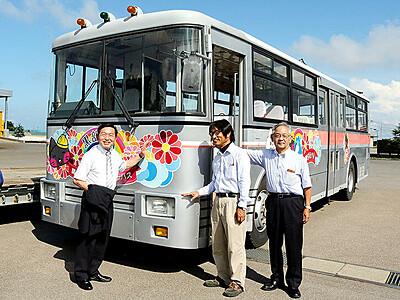 アルペンルートのトロリーバス 解体免れ大町で展示へ