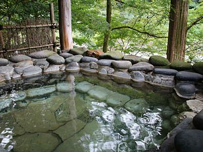昆布茶みたいな温泉!? 三条・越後長野温泉「嵐渓荘」
