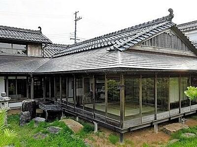 福井県文化財「旧古河屋別邸」 豪邸再生しカフェに 小浜市