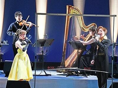 音楽家とOSKコラボ 武生国際音楽祭、迫力のプレ催し