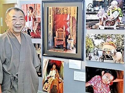 ミャンマーの日常、活写 福井の男性、現地撮影40点披露