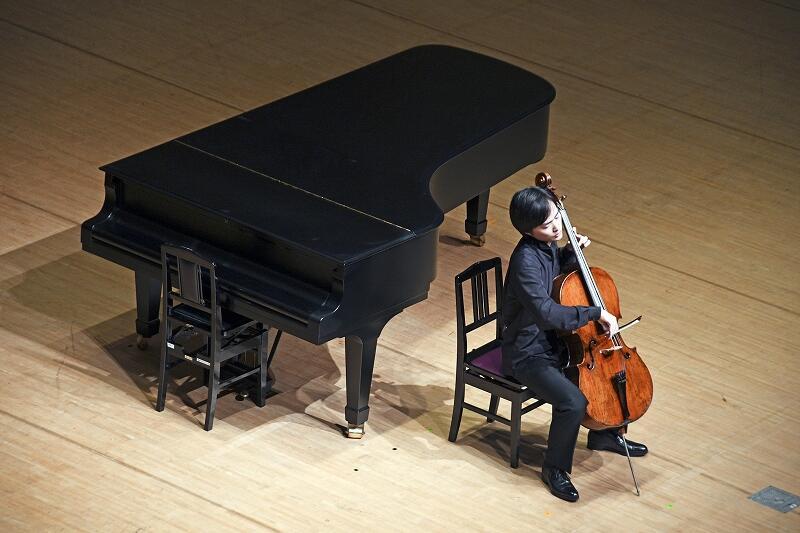 実力派音楽家の演奏で幕を開けた武生国際音楽祭=9月11日夜、福井県越前市文化センター