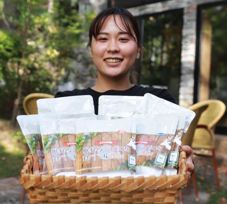 日本ジビエ振興協会が開発したジビエのレトルト商品