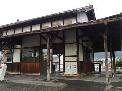 旧屋代線「綿内駅」解体へ 25~30日に歴史振り返る展示