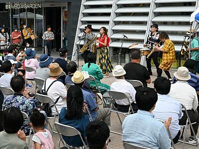 松本にジャズの熱気 初のフェス
