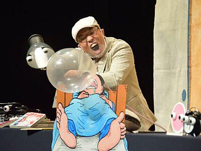 久々の定期公演 飯田人形劇場沸く