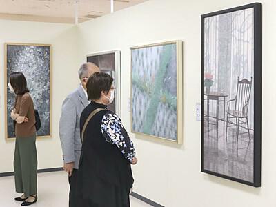 日本画の彩り鮮やか 新潟伊勢丹「春の院展」