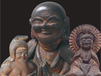 木喰上人の仏像 84体勢ぞろい 柏崎市立博物館で企画展