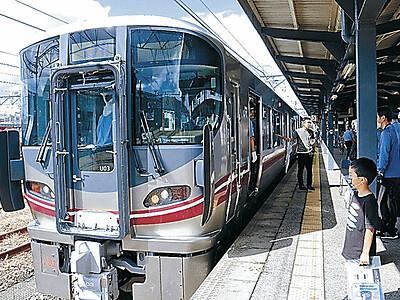 七尾線の新車両展示 10月3日導入