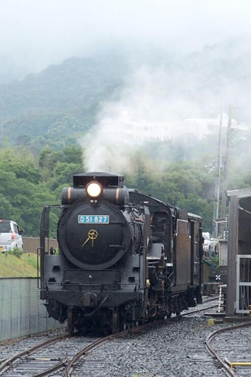 えちごトキめき鉄道が借りる和歌山県のD51