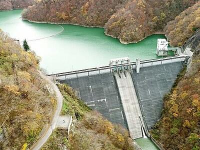 土木学会「選奨遺産」、福井県大野市の笹生川ダム認定 「3次元的応力解析法」活用