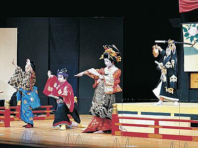 子供役者堂々演じる 小松・八町歌舞伎、待望の振替公演