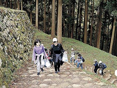 七尾城跡の魅力発信 プロジェクト実行委