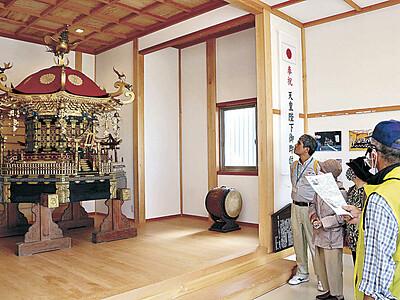 日本遺産認定 美川で北前船の記念事業